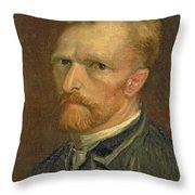 Self Portrait, 1886 Throw Pillow