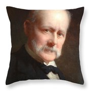 Self Portrait, 1899 Throw Pillow