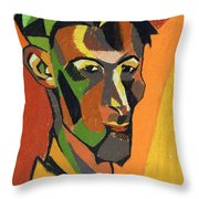 Self Portrait, 1913 Throw Pillow