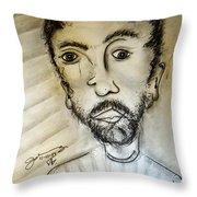 Self-portrait #2 Throw Pillow