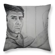 Self Portrait By Stacy C Bottoms Throw Pillow