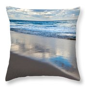 Self Reflection Throw Pillow by Michelle Wiarda