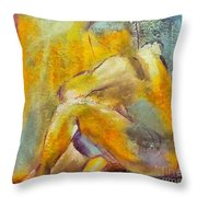 Self-sufficient Throw Pillow