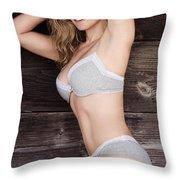 Selia Hansen Throw Pillow by Selia Hansen