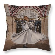 Selimiye Dervish Throw Pillow