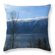 Selkirks In Fall Throw Pillow