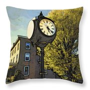 Sellersville Time Throw Pillow