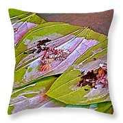 Selling Betel Nut For Chewing In Tachilek-burma Throw Pillow