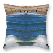 Selsey Mirrored Throw Pillow