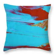 Semi Done Throw Pillow