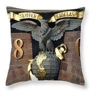 Semper Fi Throw Pillow