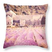 Senanque Abbey II Throw Pillow