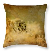 Send The Bees Love Throw Pillow