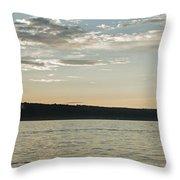 Seneca Lake Living Throw Pillow