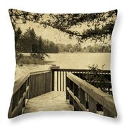 Seney Osprey Throw Pillow