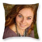 Senior Example 19 Throw Pillow