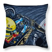 Senna Onboard Throw Pillow
