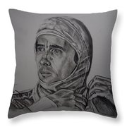 Senna The Gaze Of Myth. Throw Pillow