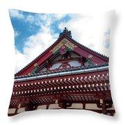 Sensoji Temple Throw Pillow