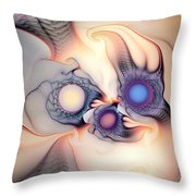 Sensorial Nirvana Throw Pillow
