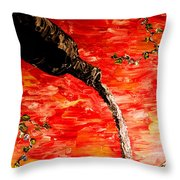 Sensual Fruit Throw Pillow by Mark Moore