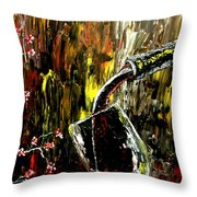 Sensual Moments Throw Pillow by Mark Moore