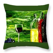 Sensual Nectar  Throw Pillow