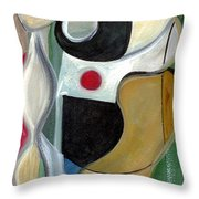 Sensuous Beauty Throw Pillow