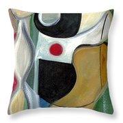 Sensuous Beauty Throw Pillow