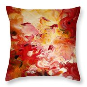Senteurs Exquises Throw Pillow