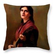 Sentimental Song Throw Pillow
