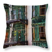Sentinel Building Or Columbus Tower Throw Pillow