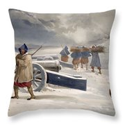 Sentinel Of The Zouaves, Plate From The Throw Pillow
