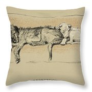 Separation, 1930, 1st Edition Throw Pillow