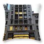 Sephora House - 5th Ave Nyc Throw Pillow