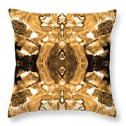 Sepia Bag Fairies 4 Throw Pillow