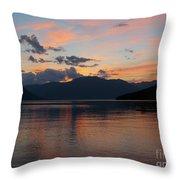 September Sunset Throw Pillow