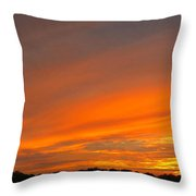 September Sunset Two Throw Pillow