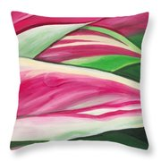 Serendipity II Throw Pillow by Lisa Bentley