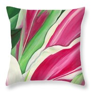 Serendipity Throw Pillow by Lisa Bentley