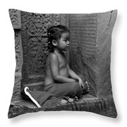 A Moment Of Serenity Throw Pillow