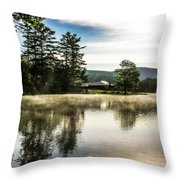 Serene Morning Throw Pillow