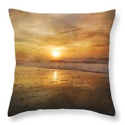 Serene Outlook  Throw Pillow by Betsy Knapp