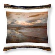 Serene Sunrise Throw Pillow