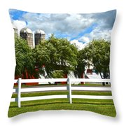 Serene Surroundings Throw Pillow