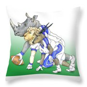 Serengeti Scrimage Line Throw Pillow