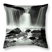 Serenity And Majesty Throw Pillow
