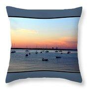 Serenity At The Bay Throw Pillow