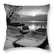 Serenity Throw Pillow by Davorin Mance