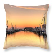Serenity Harbor 1 Throw Pillow